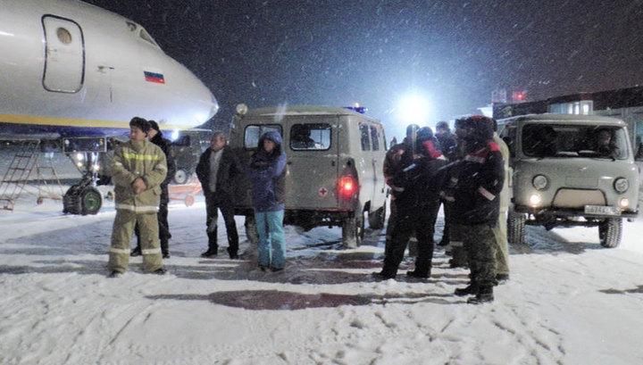 Всех пострадавших при крушении Ми-8 перевезли в Красноярск