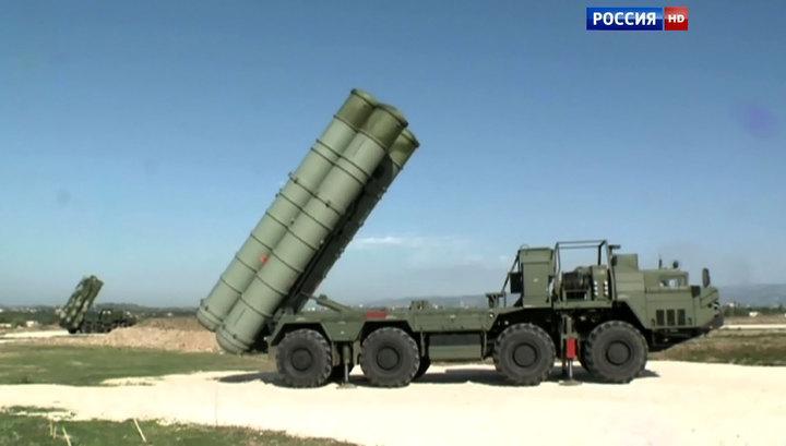 Шойгу доложил Путину о поставке С-300 в Сирию