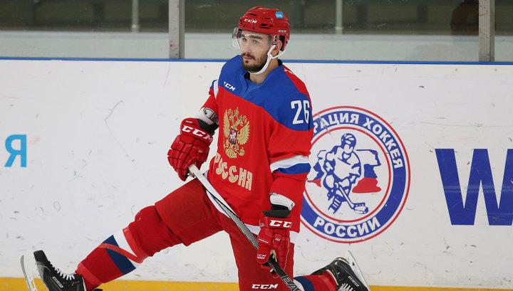 Российские хоккеисты нанесли поражение шведам
