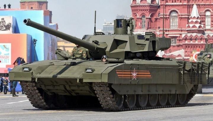 "Британская разведка: ""Армата"" - революция в танкостроении"