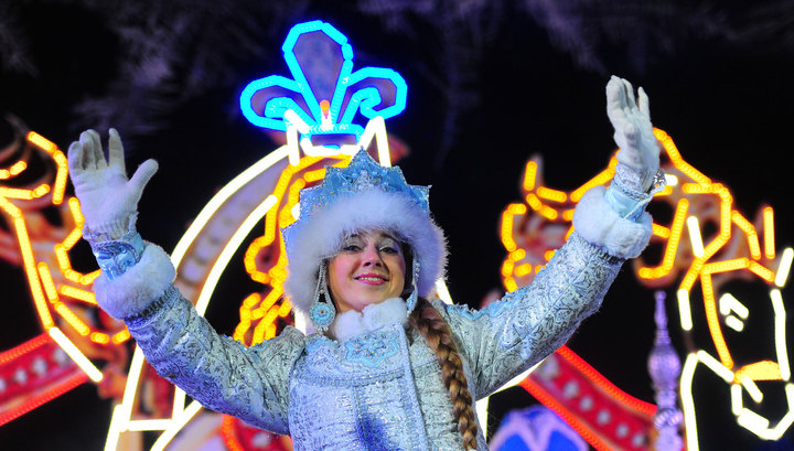 Секс похищение снегурочки на новый год
