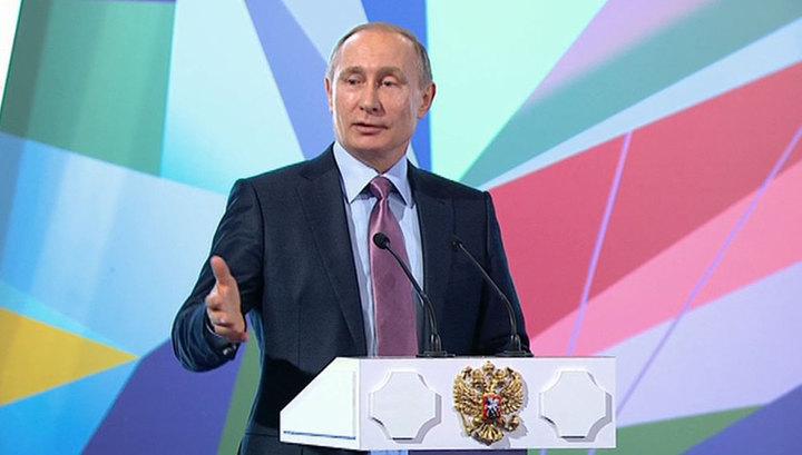 Президент РФ обрадовал участников интернет-рынка, пообещав им поддержку государства