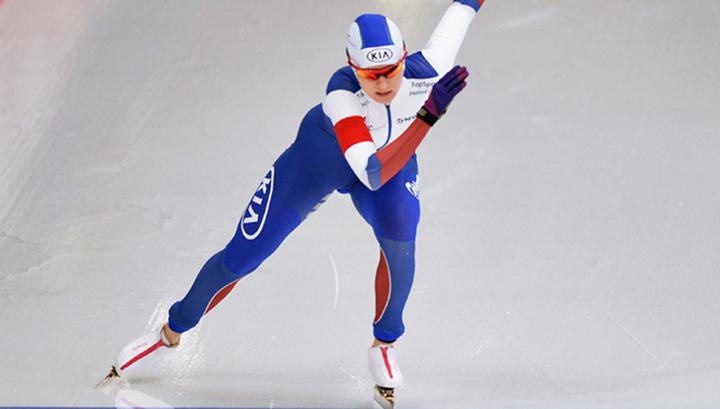 Коньки. Наталья Воронина – вторая на этапе Кубка мира