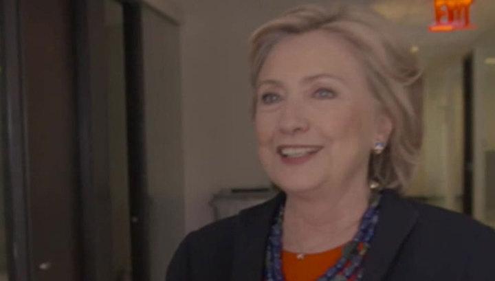 Хиллари пыталась перепить Маккейна, но не осилила столько водки