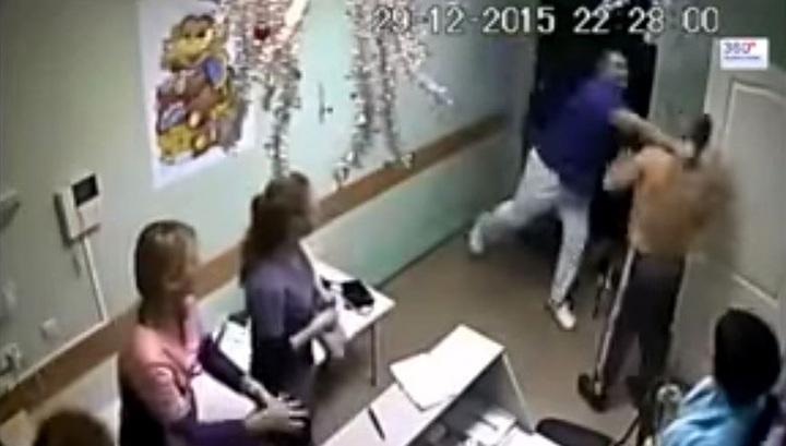 Шокирующее видео: в белгородской больнице врач до смерти избил пациента