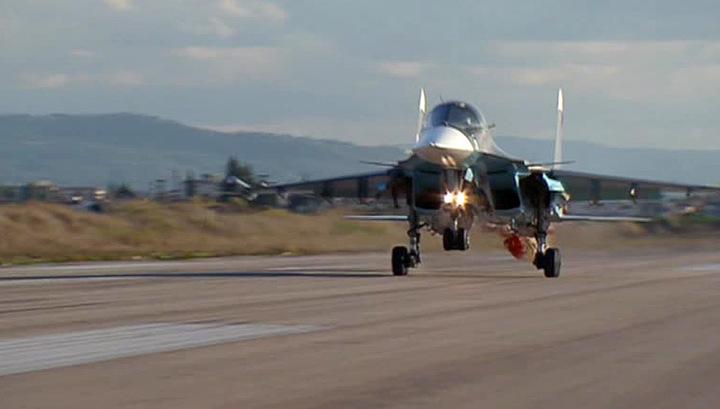 Операция ВКС в Сирии: интенсивность авиаударов нарастает