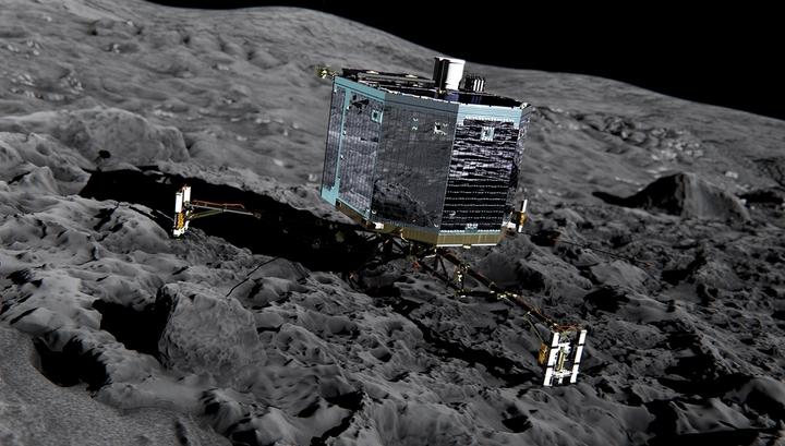 12 ноября 2014 года исследовательский аппарат достиг поверхности кометы Чурюмова-Герасименко