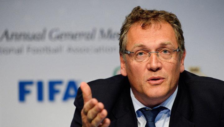 Жером Вальке уволен с поста генерального секретаря ФИФА