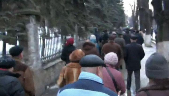 Ножи, биты, противогазы: в Кишиневе задержан 21 провокатор