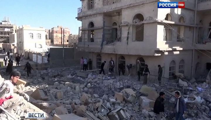 Авиаудары по столице Йемена: 45 человек погибли, 450 ранены