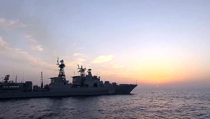Без утайки: иностранные журналисты побывали на русском боевом корабле