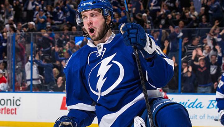 Кучеров вошел в Топ-3 самых результативных россиян по очкам за сезон в НХЛ