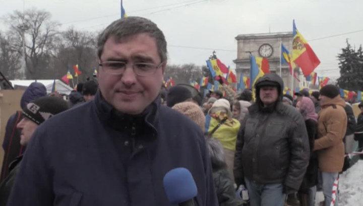 В Молдавии хотят арестовать оппозиционера Усатого
