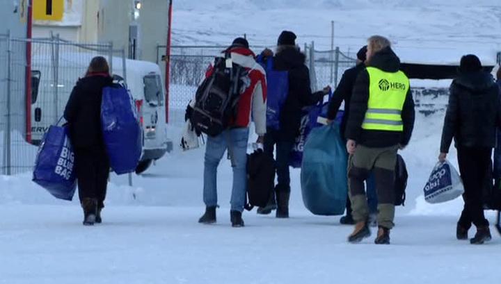 Норвегия временно прекратила депортировать в Россию беженцев
