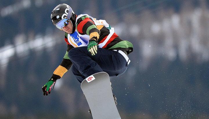 Россиянин Олюнин не пробился в финал сноуборд-кросса, получив тяжелую травму