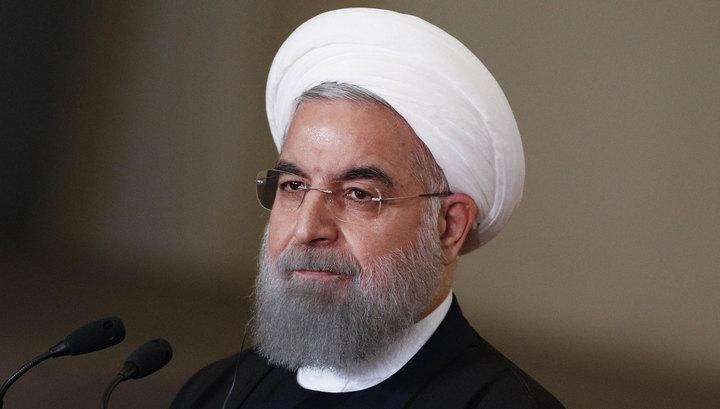 Роухани: Иран не станет разрабатывать ядерное оружие, даже если США выйдут из сделки