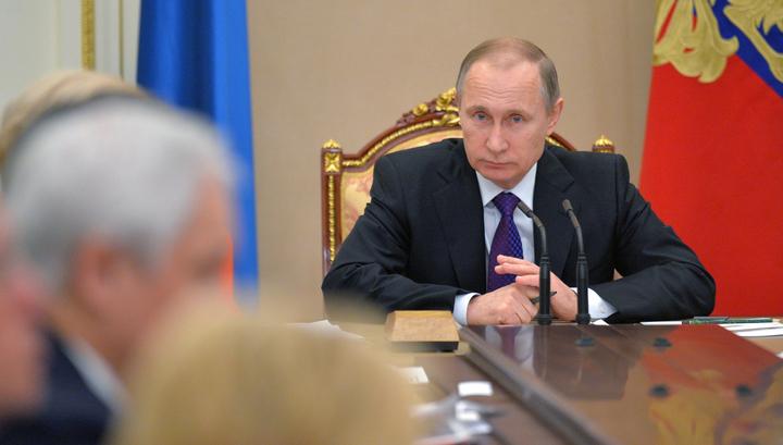 Путин попросил Трутнева не пугать Порошенко бицепсами