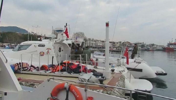 Крушение у берегов Турции: погибли 30 человек