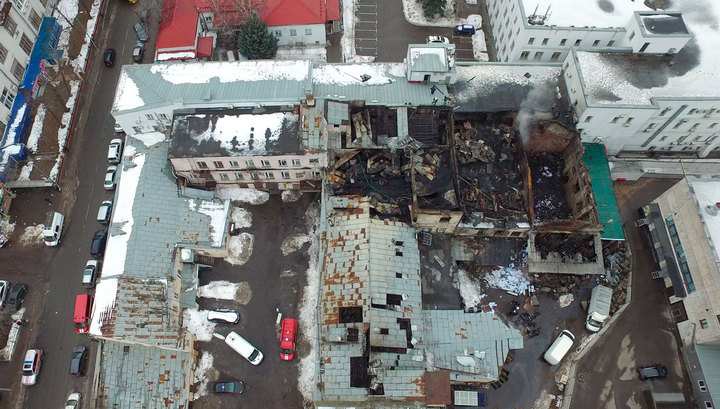 Следователи нашли выжившего в сгоревшем доме на Стромынке