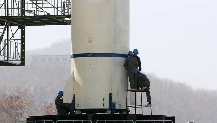 КНДР попыталась запустить космический спутник