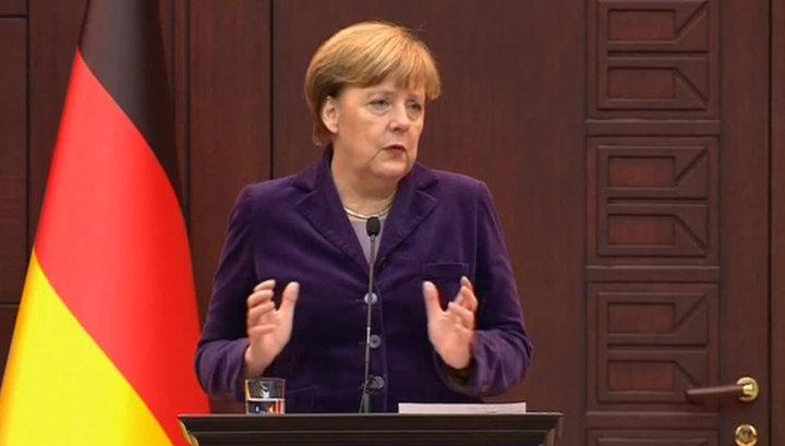 Меркель свалила поток беженцев и срыв межсирийских переговоров на Россию
