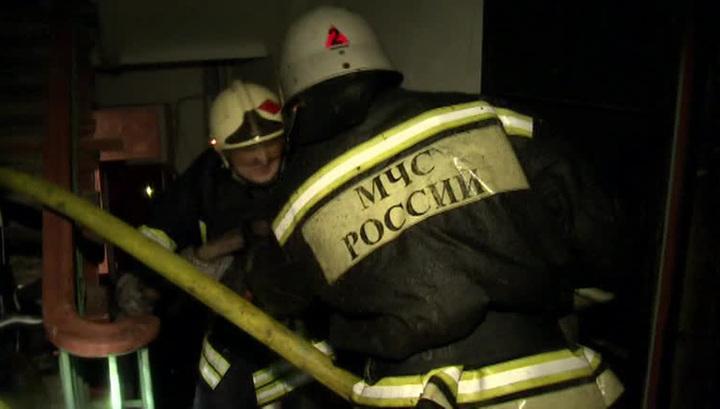 Пожар вспыхнул в туберкулезной больнице в Москве