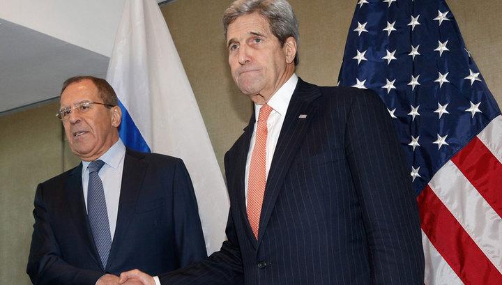 Лавров - Керри: разглашение предложения о перемирии в Сирии - неожиданность для Москвы