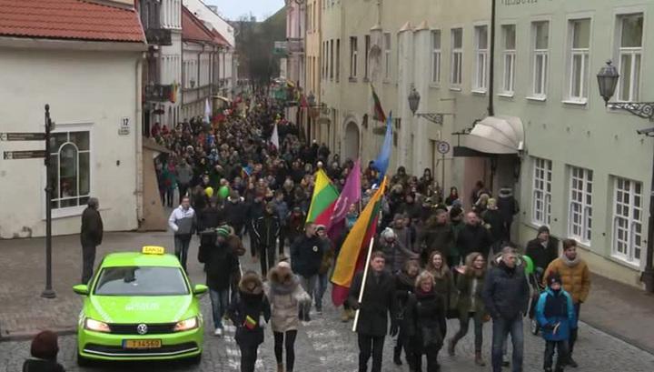"""Разгул националистов в Литве: мигрантам грозит """"новый Холокост"""""""