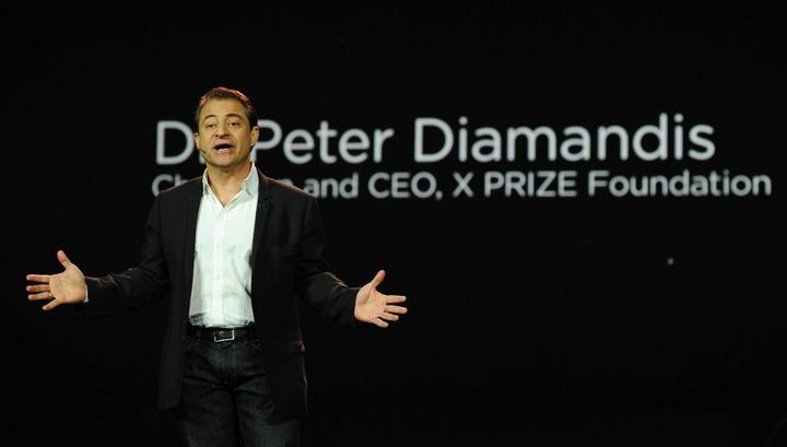 Основатель фонда XPrize Питер Диамандис задался целью успокоить мир
