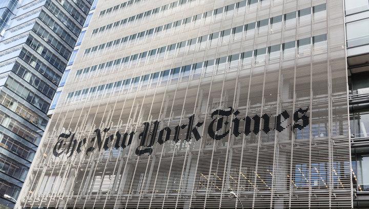 Журналист The New York Times отстранен от работы после обвинений в домогательствах