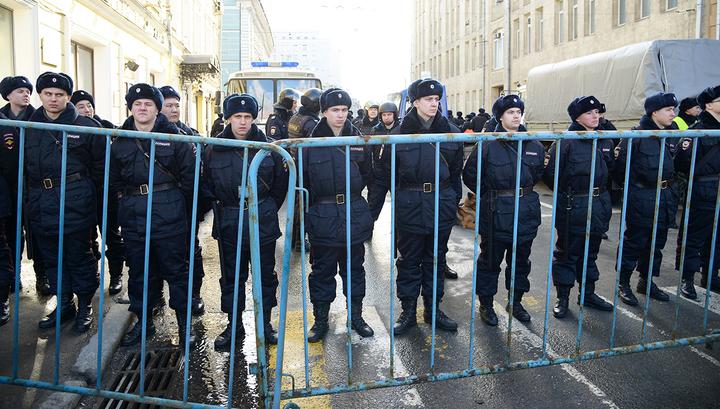 Полиция призвала не участвовать в несанкционированной акции на Красной площади