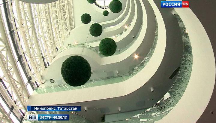 Иннополис стал первым городом, построенным в России