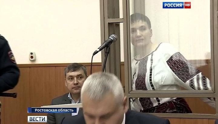 К Савченко не пустили украинских врачей из-за матерной брани