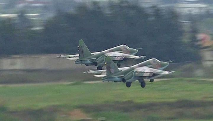 Дорога домой: с авиабазы Хмеймим взлетела еще одна группа российских самолетов