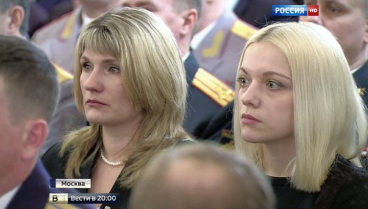 Награды участникам боевых действий в Сирии: Путин обратился к вдовам погибших
