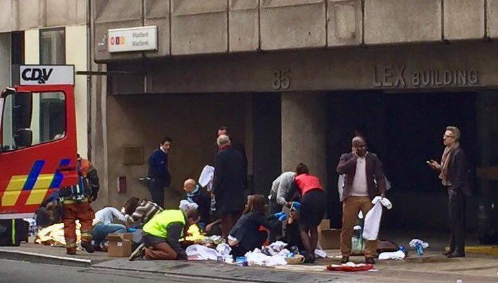 Метро Брюсселя подтвердило только один взрыв - в вагоне поезда на Maelbeek