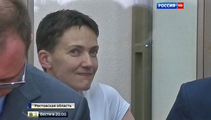 Дело Савченко завершилось с песнями и шоу