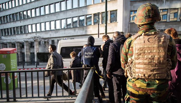 Операция в Брюсселе связана с неудавшимся терактом во Франции