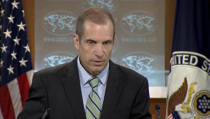 Запутался: спикер Госдепа США не смог сказать, нужно ли освобождать Пальмиру от ИГ