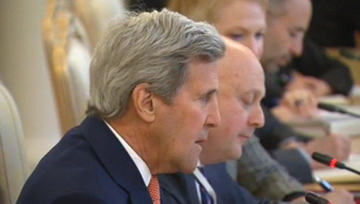 Лавров и Керри начали встречу в Москве
