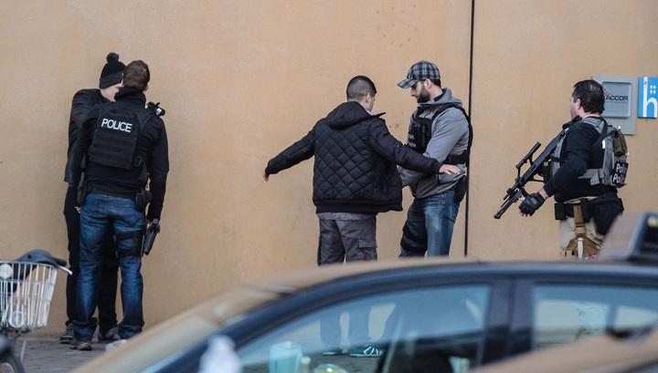 Спецоперация в Брюсселе: задержаны три человека