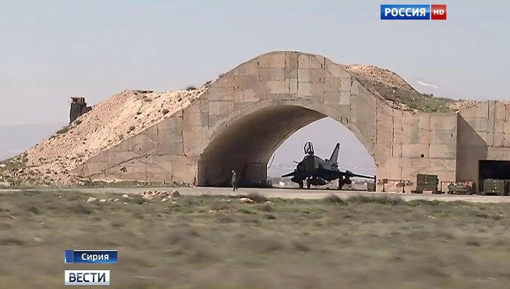 Сбитый террористами истребитель принадлежит сирийским ВВС
