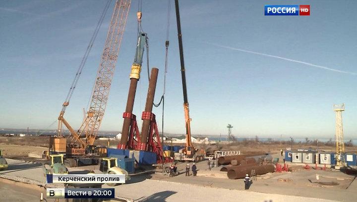 Керченский мост будут строить под наблюдением Общественного совета