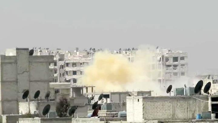 После смертельного удара коалиции по складу ИГИЛ пошел желтый дым