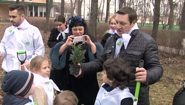 У Дома-музея Королёва прошел первый весенний субботник