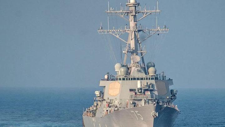 Турецкая газета Hurriyet: корабль ВМС США приблизился к российской базе в Сирии