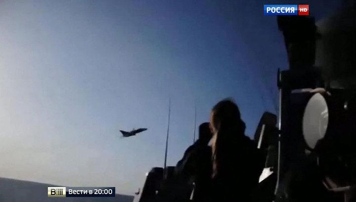 Матросов американского эсминца снова напугали российские самолеты