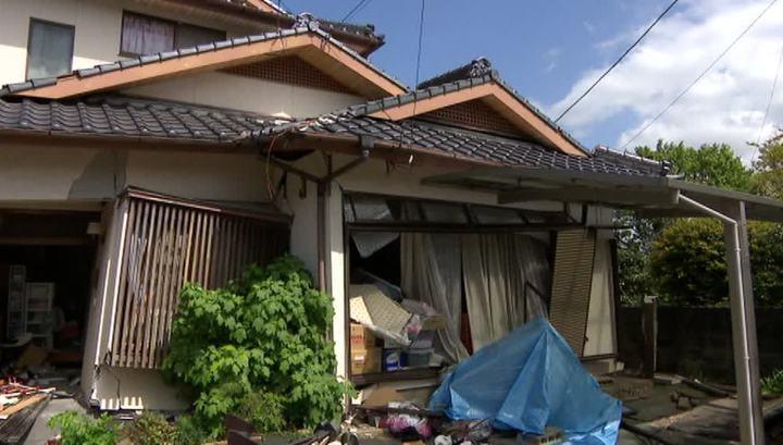 Землетрясение превратило города Кюсю в развалины