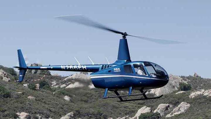 На место крушения вертолета Robinson в Башкирии вылетели криминалисты