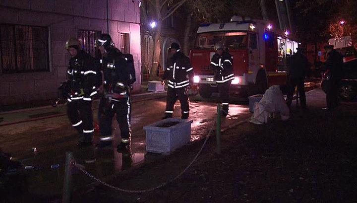 В Люберцах загорелся расселенный дом, погибли три человека